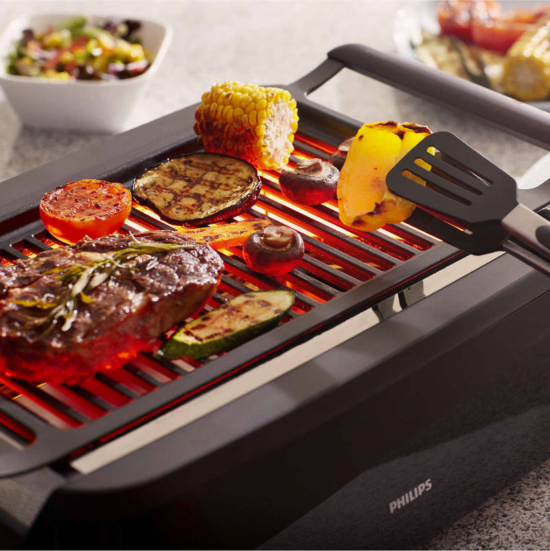 Philips Avance Smokeless Indoor Infrared BBQ Grill HD6371/94