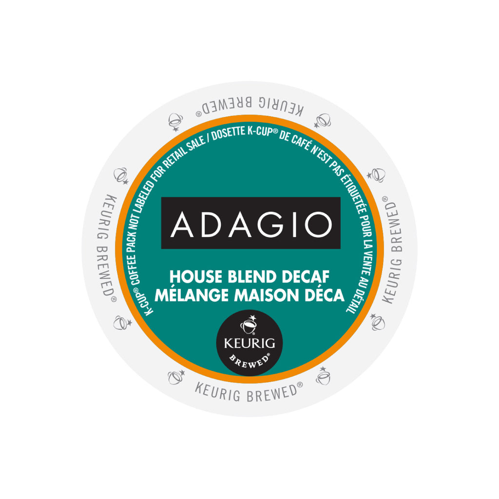 * SALE * Adagio House Blend Decaf K-Cup® Pods