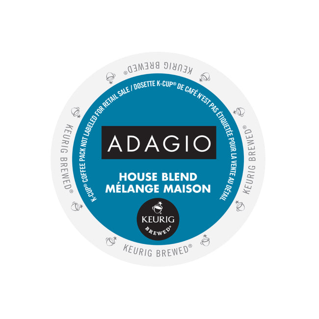 Adagio House Blend K-Cup® Pods (Case of 96)