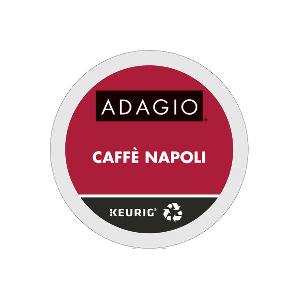 Adagio Caffè Napoli K-Cup® Recyclable Pods (Box of 24)