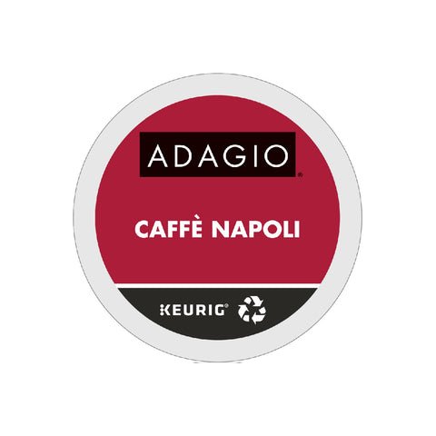 Adagio Caffè Napoli K-Cup® Recyclable Pods (Case of 96)