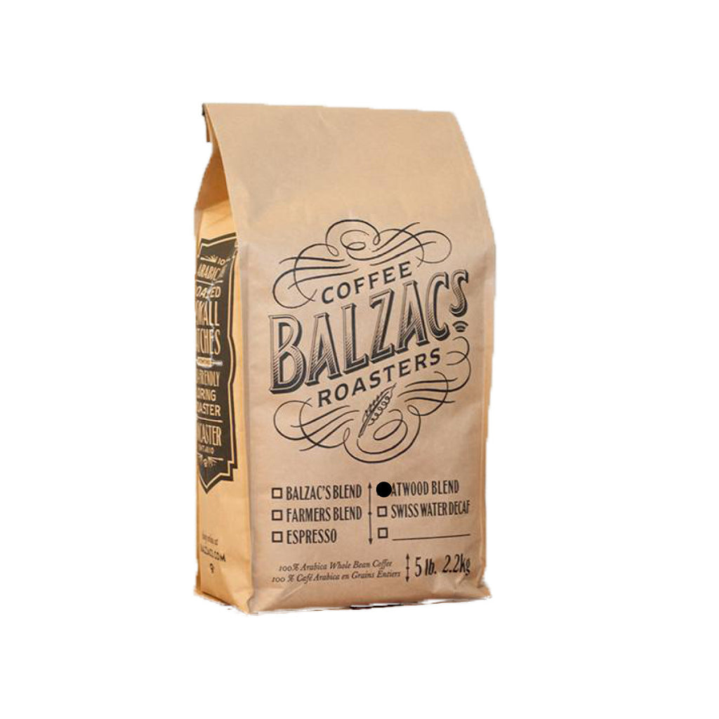 Balzac's Atwood Blend Whole Bean Coffee