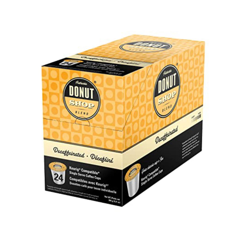 Authentic Donut Shop Decaf Single-Serve Coffee Pods (Case of 96)