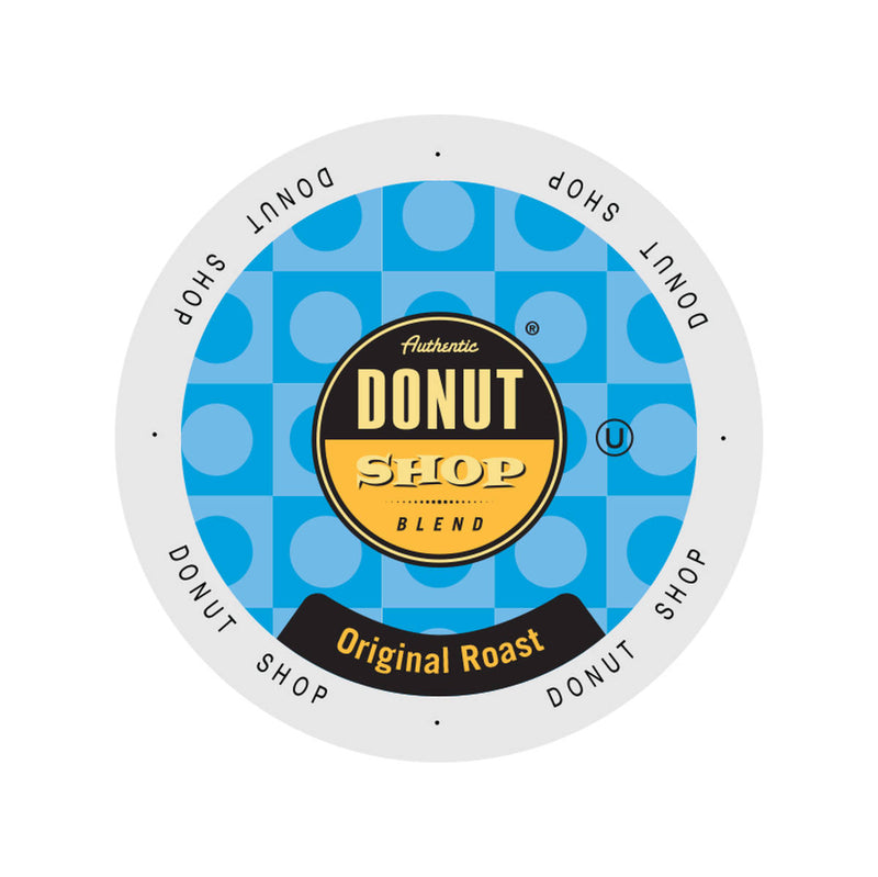 Authentic Donut Shop Original Roast Single-Serve Coffee Pods (Box of 24)