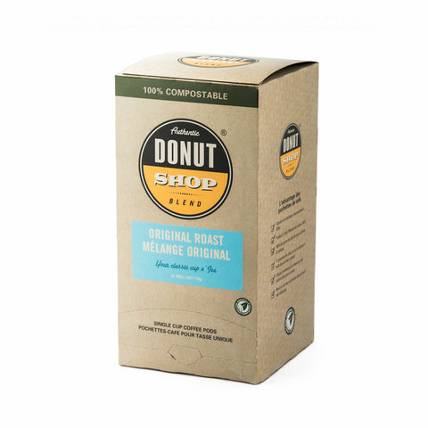 Reunion Island Authentic Donut Shop Blend Medium Roast Soft Pods