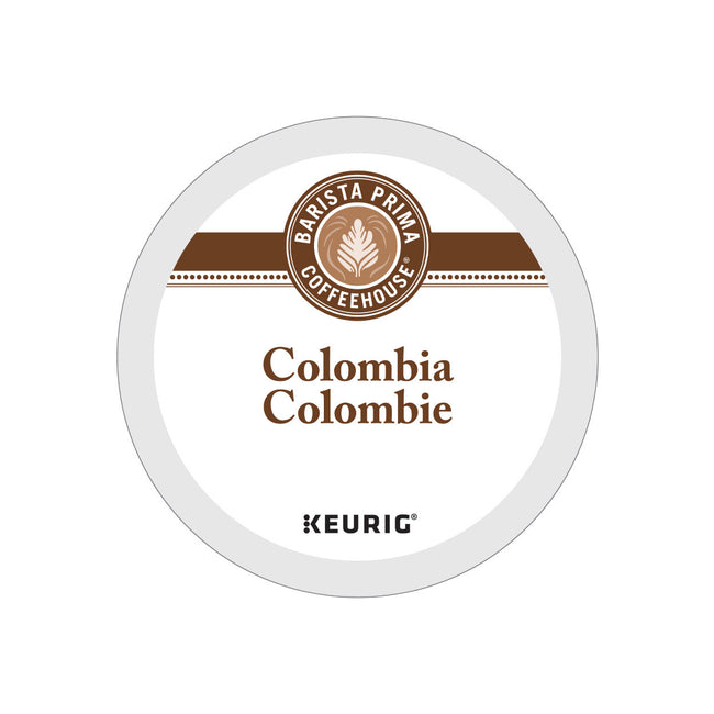 Barista Prima Colombia K-Cup® Recyclable Pods (Case of 96)