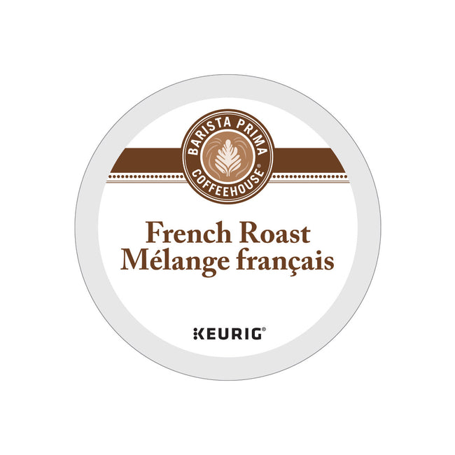 Barista Prima French Roast K-Cup® Recyclable Pods (Box of 24)
