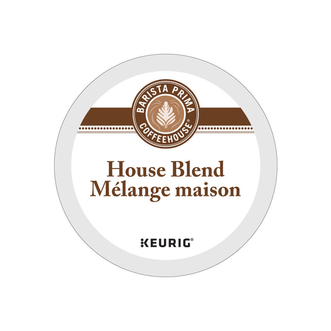 Barista Prima House Blend K-Cup® Recyclable Pods (Case of 96)