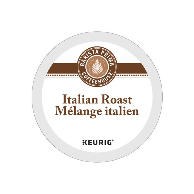 Barista Prima Italian Roast K-Cup® Recyclable Pods (Box of 24)