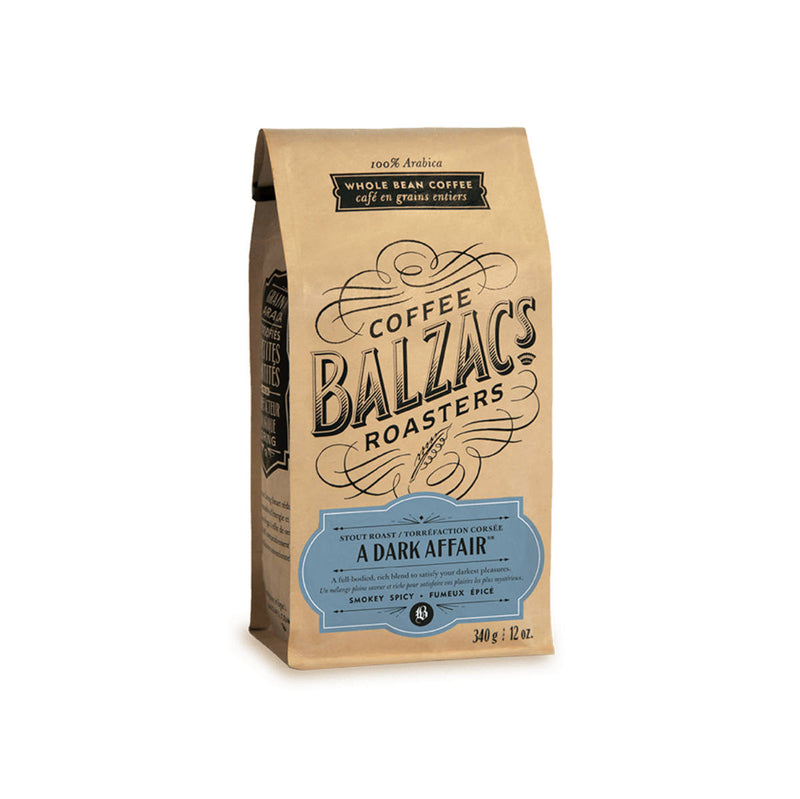 Balzac's A Dark Affair Whole Bean Coffee (12 oz.)