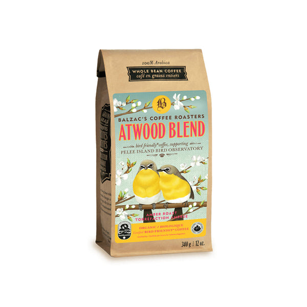 Balzac's Bird Friendly Atwood Blend Organic Whole Bean Coffee (12 oz.)