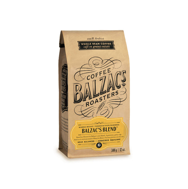 Balzac's Blend Whole Bean Coffee (12 oz.)