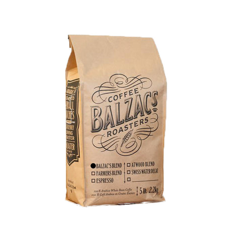 * SALE * Balzac's Blend Whole Bean Coffee