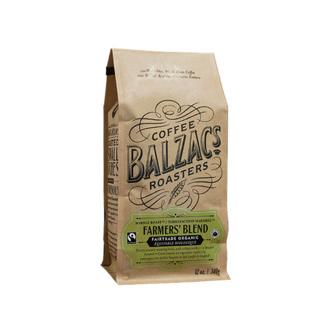 Balzac's Farmer's Blend Whole Bean Coffee