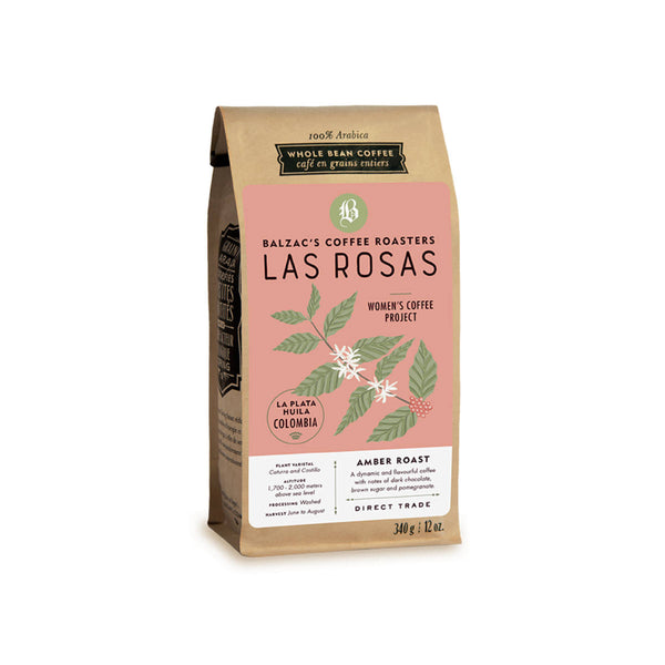 Balzac's Las Rosas Colombian Whole Bean Coffee (12 oz.)