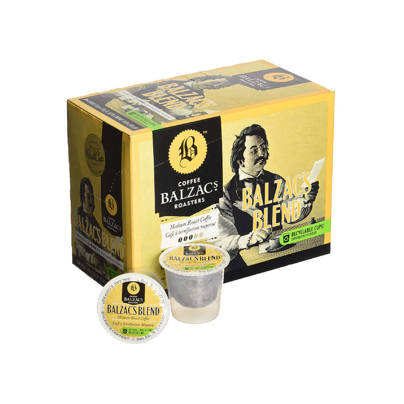 Balzac's Blend Single Serve Coffee Pods (Case of 96)
