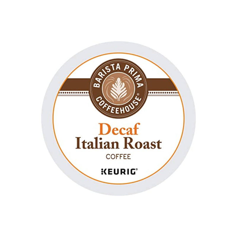 Barista Prima Decaf Italian Roast K-Cup® Recyclable Pods (Case of 96)