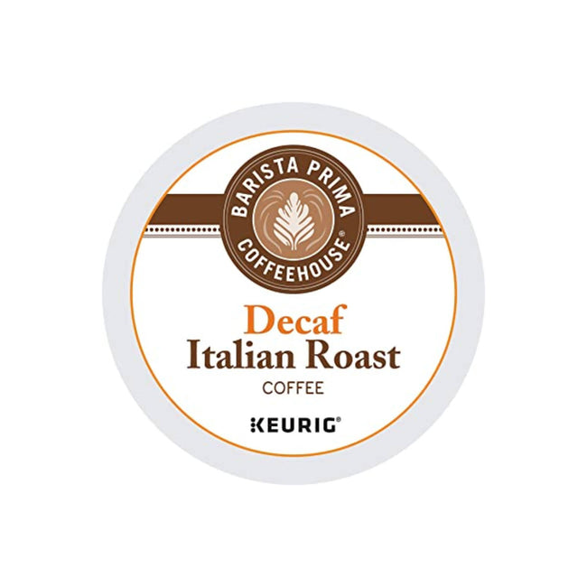 Barista Prima Decaf Italian Roast K-Cup® Recyclable Pods (Box of 24)