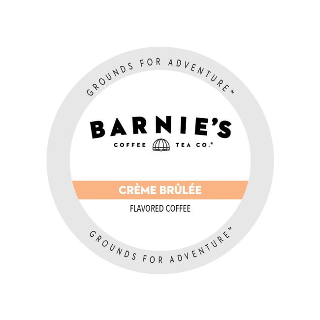 Barnie's Creme Brulee Single-Serve Coffee Pods (Case of 72)