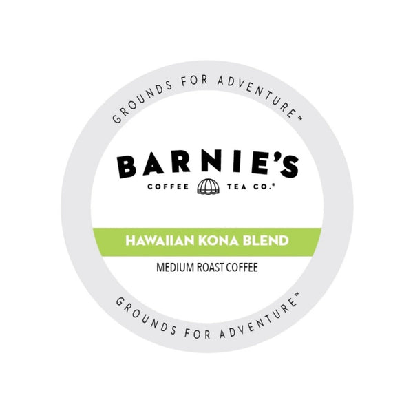 Barnie's Hawaiian Kona Blend Single-Serve Coffee Pods (Box of 22)
