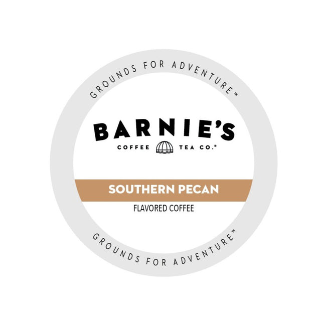Barnie's Southern Pecan Single-Serve Coffee Pods (Case of 96)