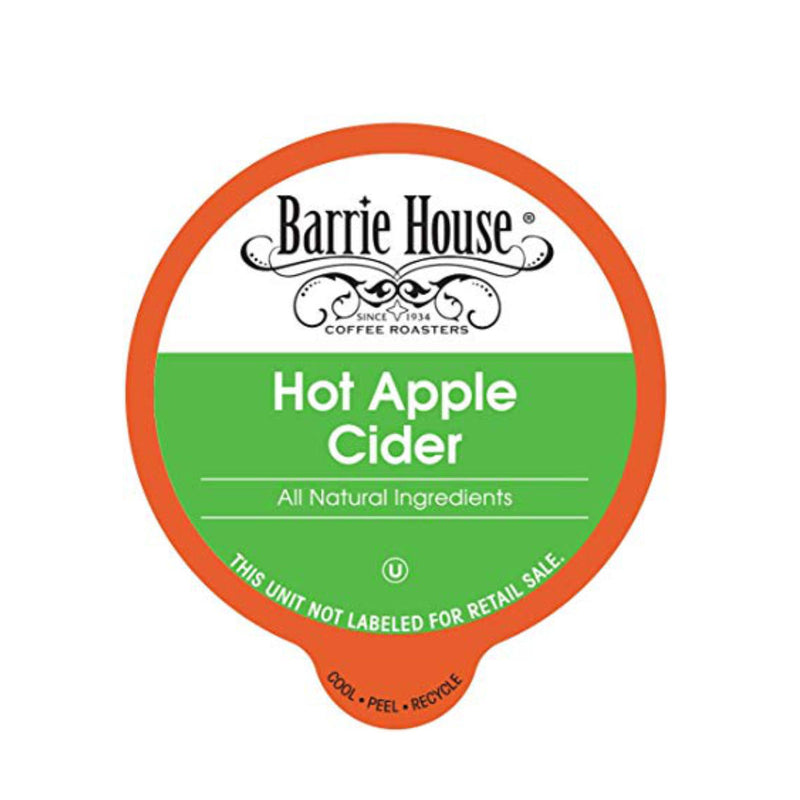 Barrie House Apple Cider Single-Serve Pods (Box of 24)