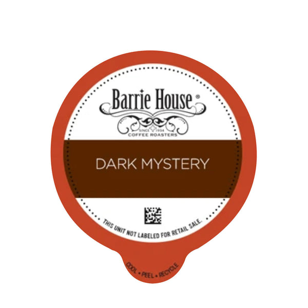 Barrie House Dark Mystery Single-Serve Coffee Pods (Box of 24)