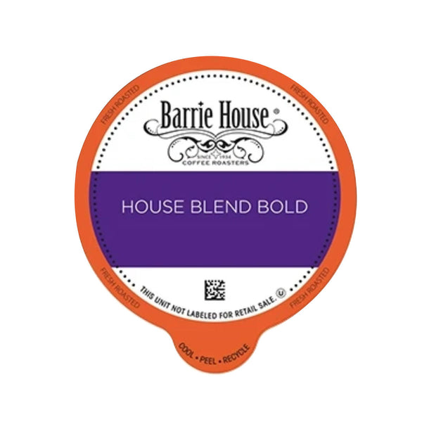 Barrie House House Blend Bold Single-Serve Coffee Pods (Case of 96)