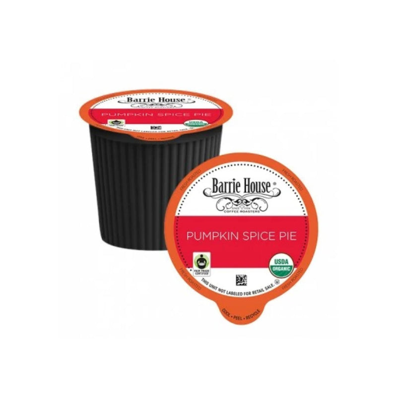 Barrie House Fair Trade Pumpkin Spice Latte Single-Serve Coffee Pods (Case of 96)