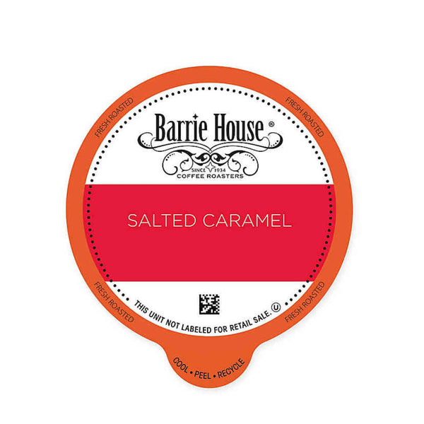 Barrie House Salted Caramel Hot Cocoa Single-Serve Coffee Pods (Box of 24)