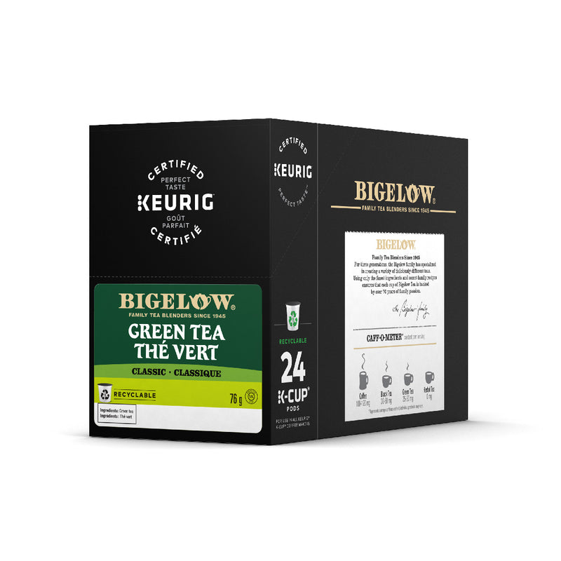 Bigelow Green Tea K-Cup® Recyclable Pods (Box of 24)