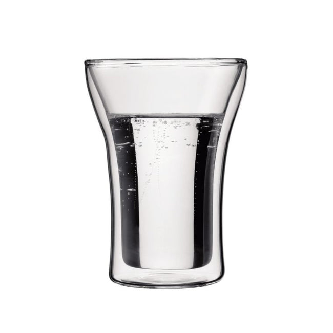 Bodum Assam Medium 8oz Double Walled Glasses (Set of 2)