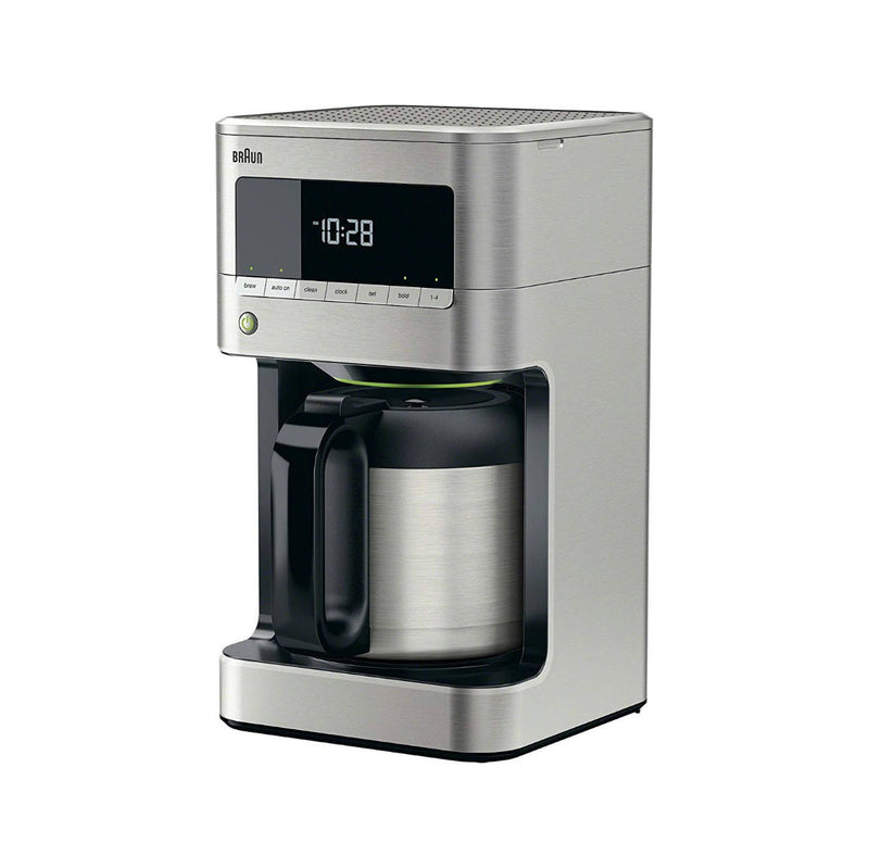 Braun BrewSense 10-Cup Digital Drip Coffee Maker with Thermal Carafe (KF7175SI / Stainless Steel)