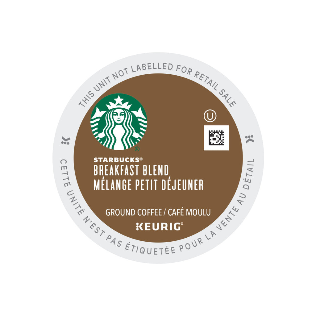 Starbucks Breakfast Blend K-Cup® Pods (Case of 96)