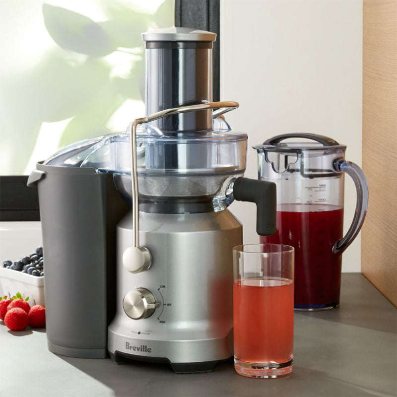 Breville The Juice Fountain™ Cold Electric Juicer BJE430SIL Silver