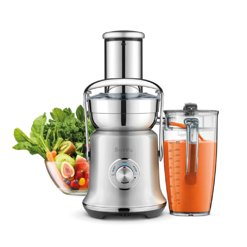 Breville The Juice Fountain™ Cold XL Electric Juicer BJE830SIL Silver