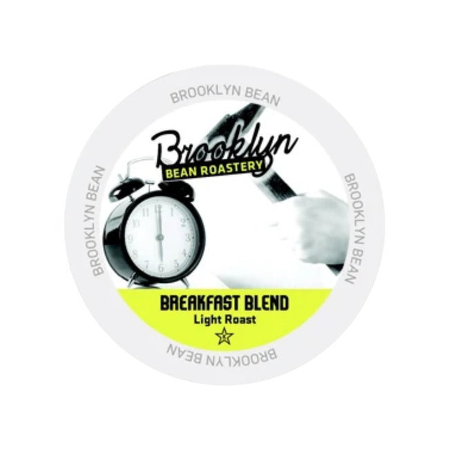Brooklyn Bean Breakfast Blend Single-Serve Coffee Pods (Case of 96)