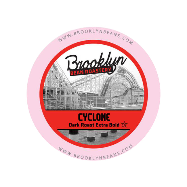 Brooklyn Bean Cyclone Extra Bold Single-Serve Coffee Pods (Box of 24)