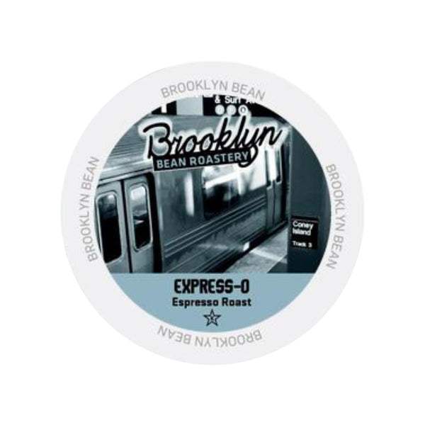 Brooklyn Bean Express-O Extra Bold Single-Serve Coffee Pods (Box of 24)