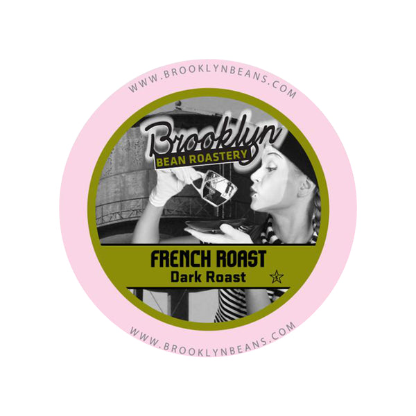 Brooklyn Bean French Roast Single-Serve Coffee Pods (Box of 24)