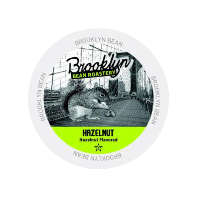 Brooklyn Bean Hazelnut Single-Serve Coffee Pods (Case of 96)