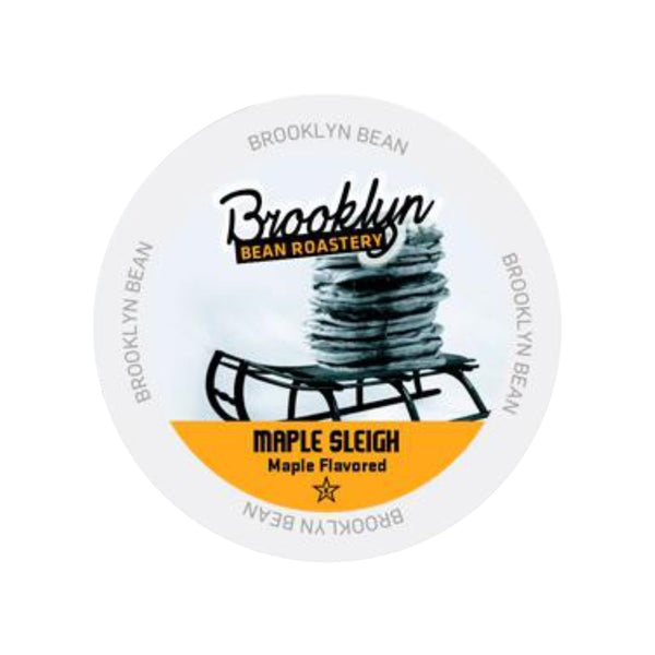 Brooklyn Bean Maple Sleigh Single-Serve Coffee Pods (Box of 24)
