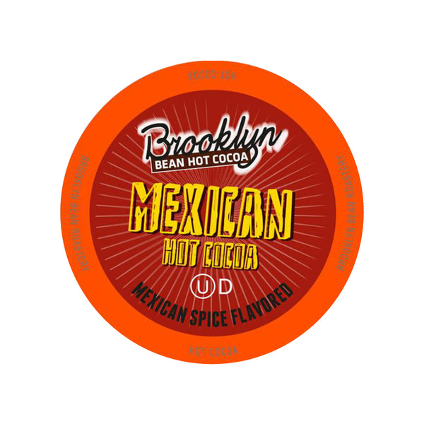 Brooklyn Bean Mexican Spice Hot Cocoa Single-Serve Pods (Box of 24)