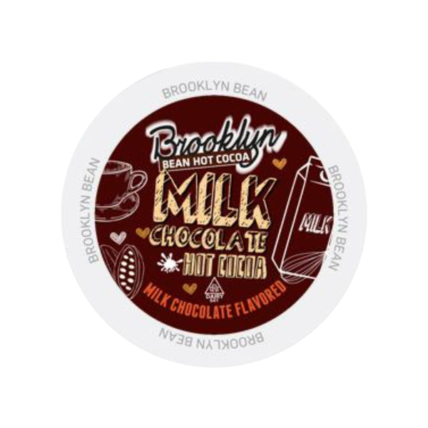 Brooklyn Bean Milk Chocolate Hot Cocoa Single-Serve Pods (Case of 96)
