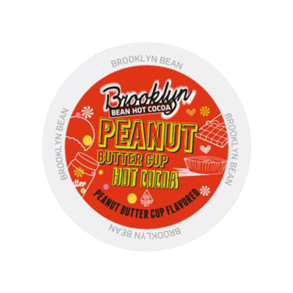 Brooklyn Bean Peanut Butter Cup Hot Cocoa Single-Serve Pods (Box of 24)