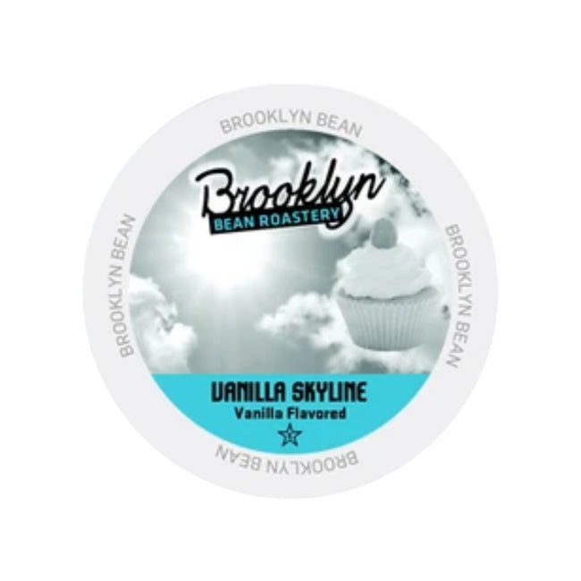 Brooklyn Bean Vanilla Skyline Single-Serve Coffee Pods (Case of 96)