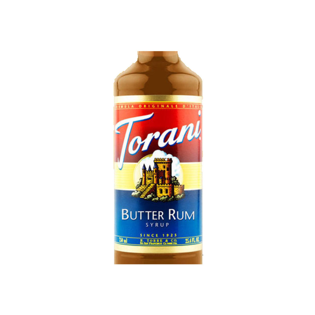 Torani Syrup Butter Rum