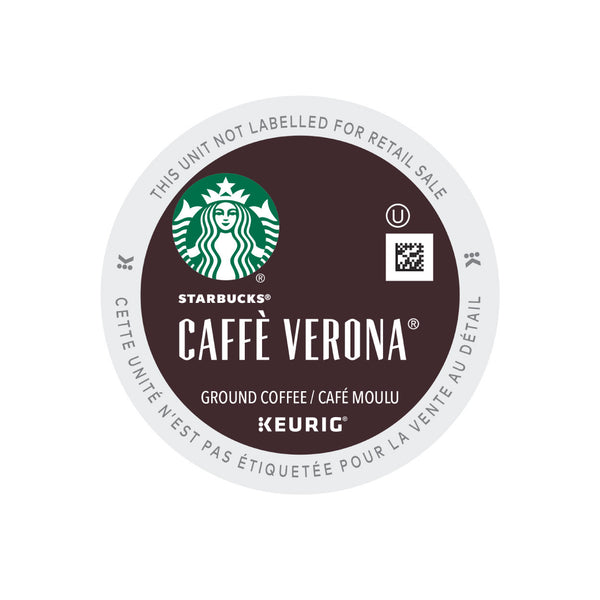 Starbucks Caff 232 Verona Box Of 24 K Cup 174 Pods