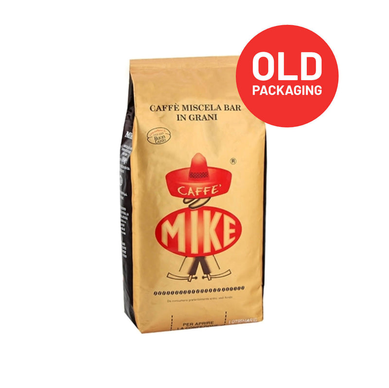 Caffe Mike Oro 31 Espresso Coffee Whole Beans (Bulk 6kg / 13.2lbs Case)