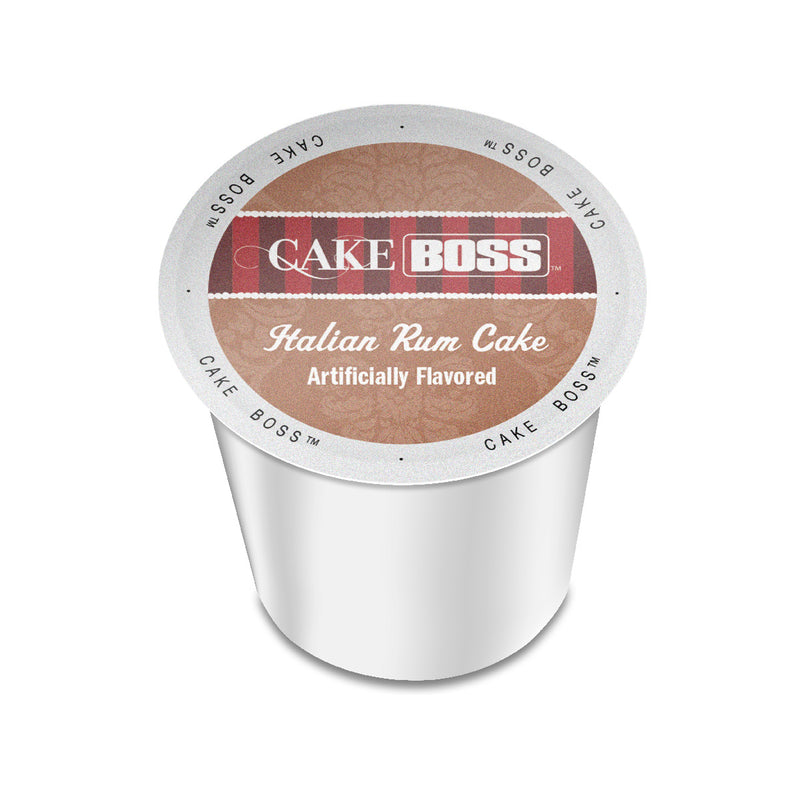 Cake Boss Italian Rum Cake Single-Serve Coffee Pods (Case of 96)